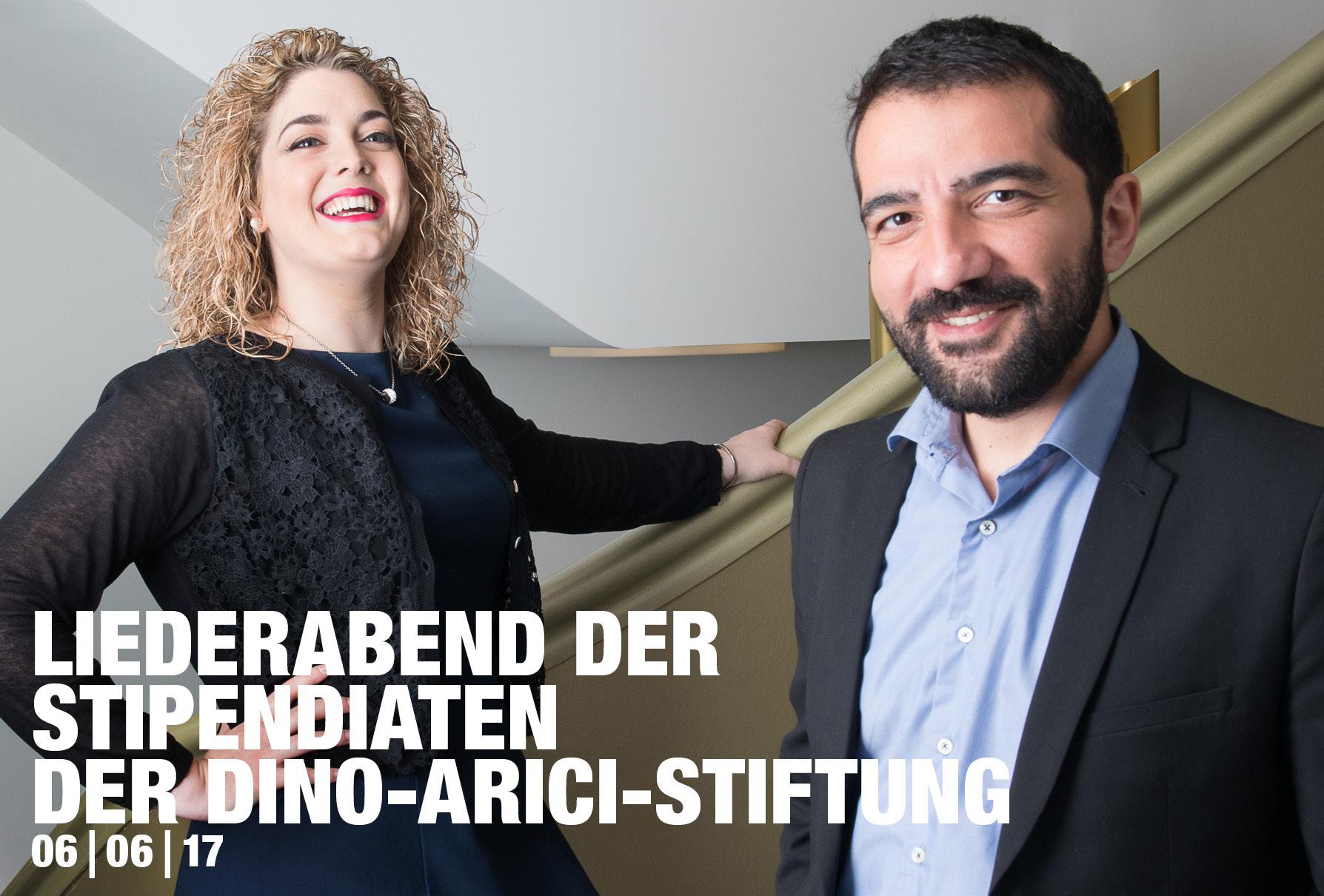 Liederabend der Stipendiaten der Dino-Arici-Stiftung