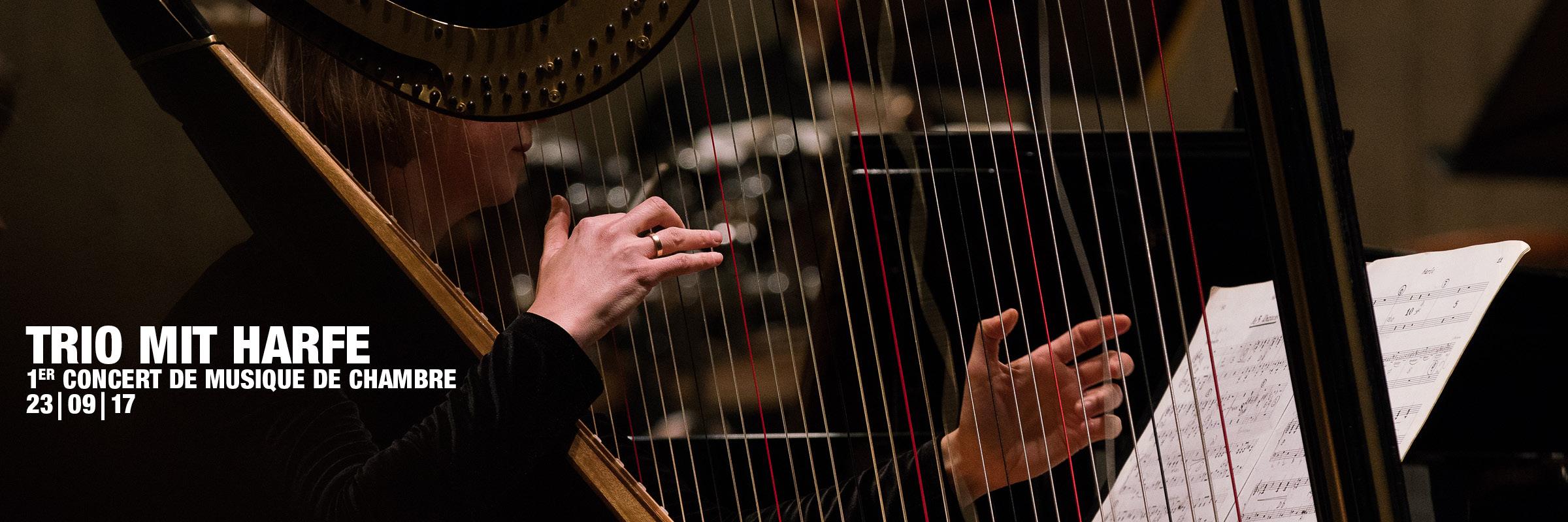 Trio mit Harfe