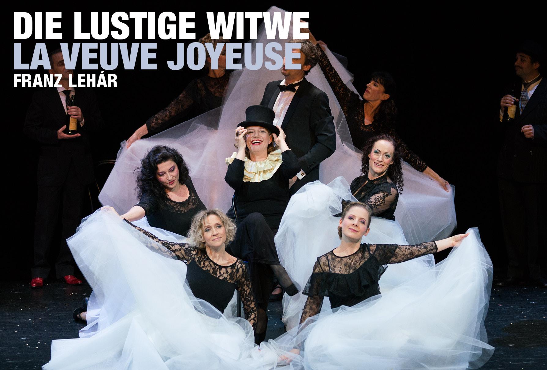 Die lustige Witwe / La Veuve joyeuse