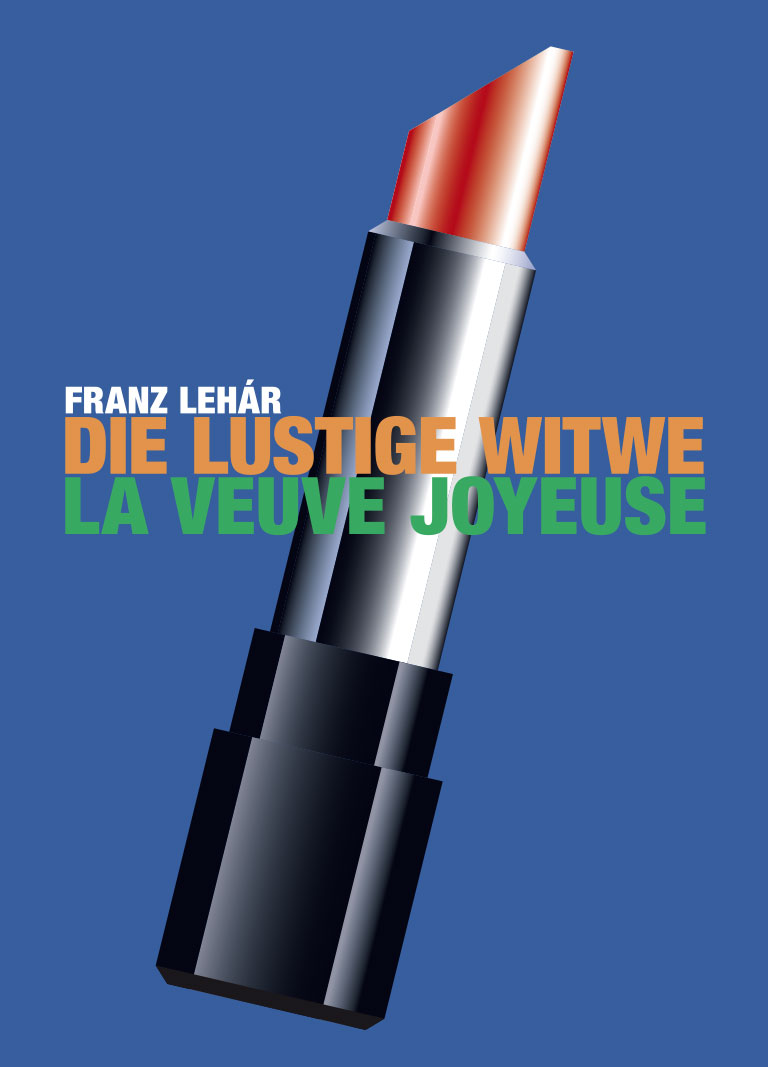 Die lustige Witwe / La Veuve joyeuse title=