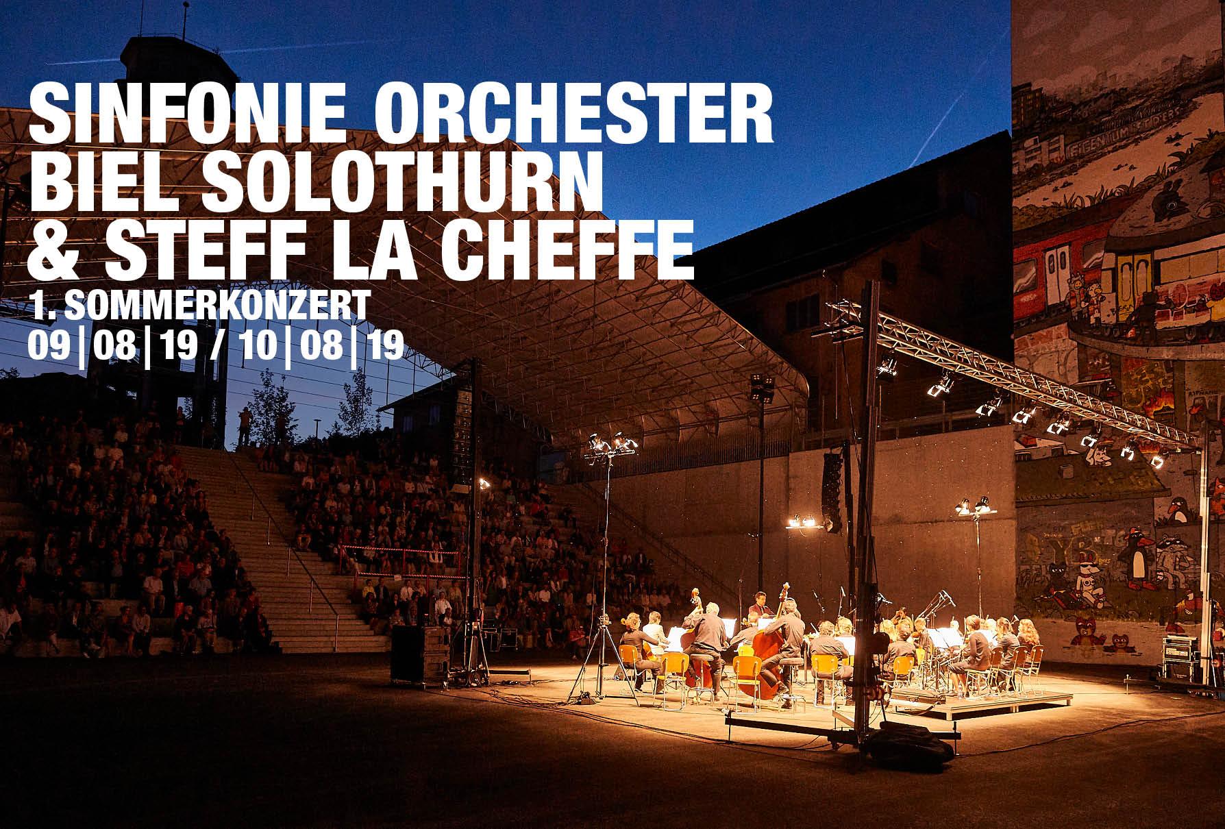 Sinfonie Orchester Biel Solothurn & Steff la Cheffe